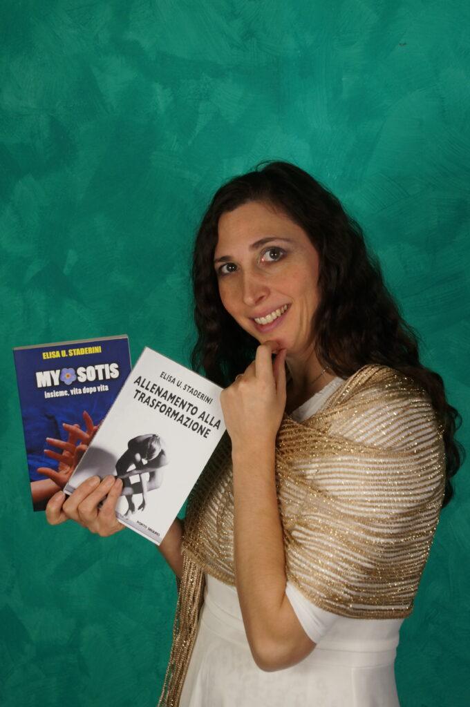 Elisa k Staderini presenta le sue pubblicazioni: Myosotis e Allenamento alla Trasformazione