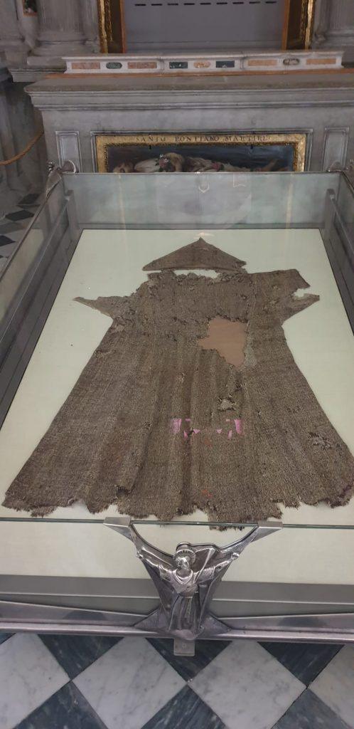 reliquia del saio di San Francesco